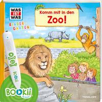 BOOKii WAS IST WAS Kindergarten Komm mit in den Zoo