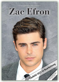 Zac Efron 2021 - A3 Format Posterkalender