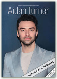 Aidan Turner 2021 - A3 Format Posterkalender