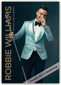 Robbie Williams 2021 - A3 Format Posterkalender