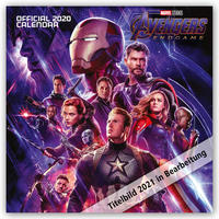 Avengers Endgame 2021 - 16-Monatskalender