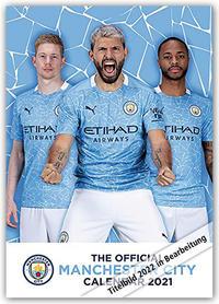 Manchester City FC 2022 - A3-Posterkalender