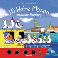 10 kleine Möwen entdecken Hamburg - Cover