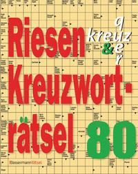 Riesen-Kreuzworträtsel 80