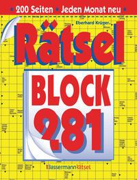 Rätselblock 281 (5 Exemplare à 2,99 €)