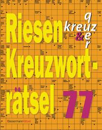 Riesen-Kreuzworträtsel 77 (5 Exemplare à 2,99 €)