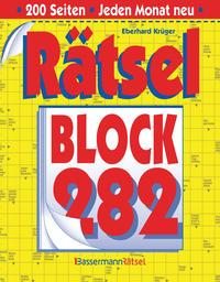Rätselblock 282 (5 Exemplare à 2,99 €)