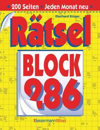 Rätselblock 286 (5 Exemplare à 2,99 €)