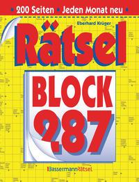 Rätselblock 287 (5 Exemplare à 2,99 €)