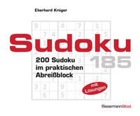 Sudoku Block 185 (5 Exemplare à 2,99 €)