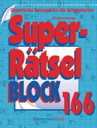 Superrätselblock 166 (5 Exemplare à 3,99 €)