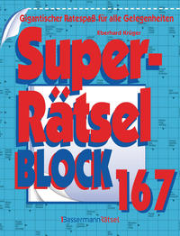 Superrätselblock 167 (5 Exemplare à 3,99 €)