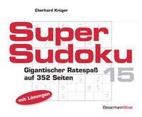 Supersudoku 15 (5 Exemplare à 3,99 €)