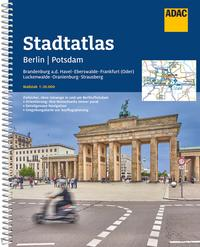 ADAC Stadtatlas Berlin/Potsdam mit Brandenburg a.d. Havel, Eberswalde, Frankfurt