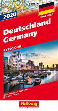 Deutschland 2020 Strassenkarte