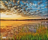 Licht in der Landschaft 2019 - Wandkalender 58,4 x 48,5 cm - Spiralbindung