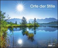 Orte der Stille 2019 - Wandkalender 52 x 42,5 cm - Spiralbindung
