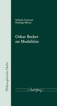 Oskar Becker on Modalities