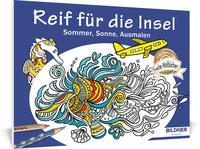 Malbuch für Erwachsene: Reif für die Insel
