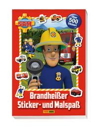 Feuerwehrmann Sam: Brandheißer Sticker- und Malspaß
