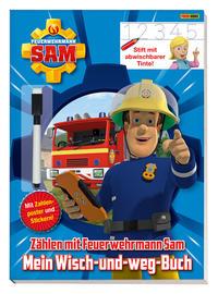 Feuerwehrmann Sam: Mein Wisch-und-weg-Buch: Zählen mit Feuerwehrmann Sam