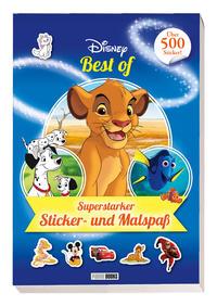 Disney Best of: Superstarker Sticker- und Malspaß