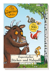 Der Grüffelo: Superstarker Sticker- und Malspaß