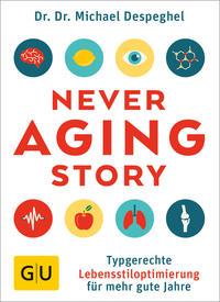 Cover: Gabi Hoffbauer Never Aging Story. Typgerechte Lebensstiloptimierung für mehr gute Jahre