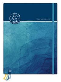 Mein Lehrerplaner A4+ 'live - love - teach' 2020/2021 - ozeanblau