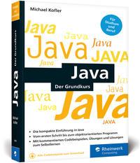 Cover: Michael Kofler Java - Der Grundkurs