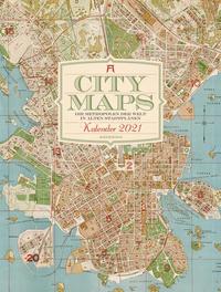 City Maps - Die Metropolen der Welt in alten Stadtplänen Kalender 2021