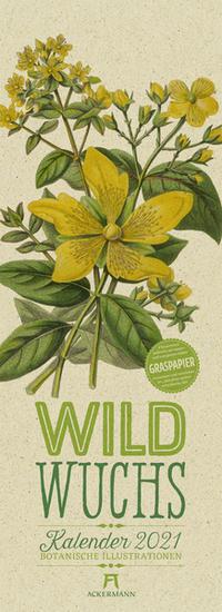 Wildwuchs - Botanische Illustrationen 2021