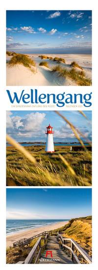 Wellengang - Meer und Küste, Triplet-Kalender 2021