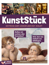 KunstStück - Der freche Kunst-Wochenplaner 2021
