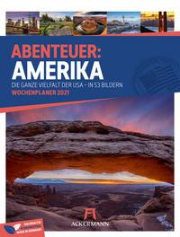 Abenteuer: Amerika - Wochenplaner 2021