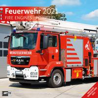 Feuerwehr Kalender 2021