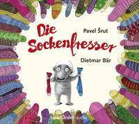 Cover: Pavel Srut und Dietmar Bär (Erzähler) Die Sockenfresser