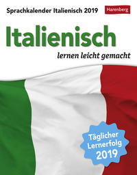 Sprachkalender Italienisch - Kalender 2019