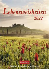 Lebensweisheiten Kalender 2022