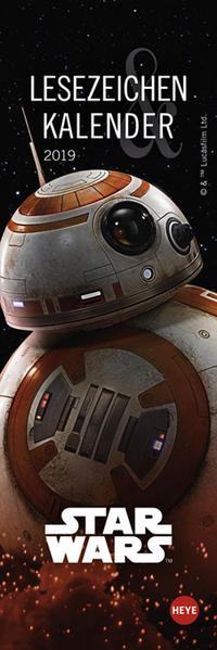 Star Wars Lesezeichen & Kalender - Kalender 2019