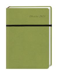 Diario Wochen-Kalenderbuch A5, grün Kalender 2021