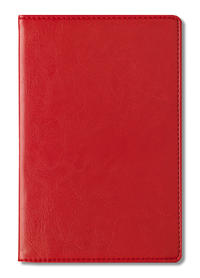 Adressbuch Glamour Red - 112 Seiten - (11 x 17)