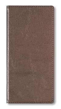 Adressbuch Pocket Glamour Bronze - 112 Seiten - (8,5 x 17,3)