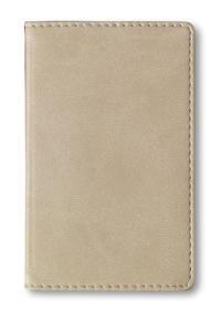 Adressbuch Mini Tucson Cream - 112 Seiten - (6,6 x 10,6) - Cover
