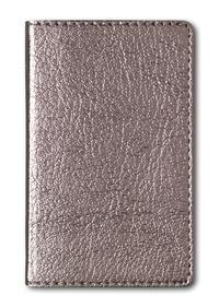 Adressbuch Mini Glamour Bronze - 112 Seiten - (6,6 x 10,6)