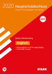 STARK Original-Prüfungen Hauptschulabschluss 2020 - Englisch 9. Klasse - Baden-Württemberg