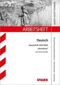STARK Arbeitsheft - Deutsch - Baden-Württemberg - Ganzschrift 2021/22 - Jansen: Herzsteine