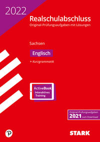 STARK Original-Prüfungen Realschulabschluss 2022 - Englisch - Sachsen