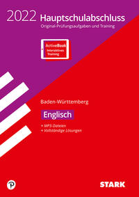 STARK Original-Prüfungen Hauptschulabschluss 2022 - Englisch 9. Klasse - BaWü