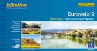 Cover: Albrecht-Walzer Birgit Eurovelo 9 - Österreich